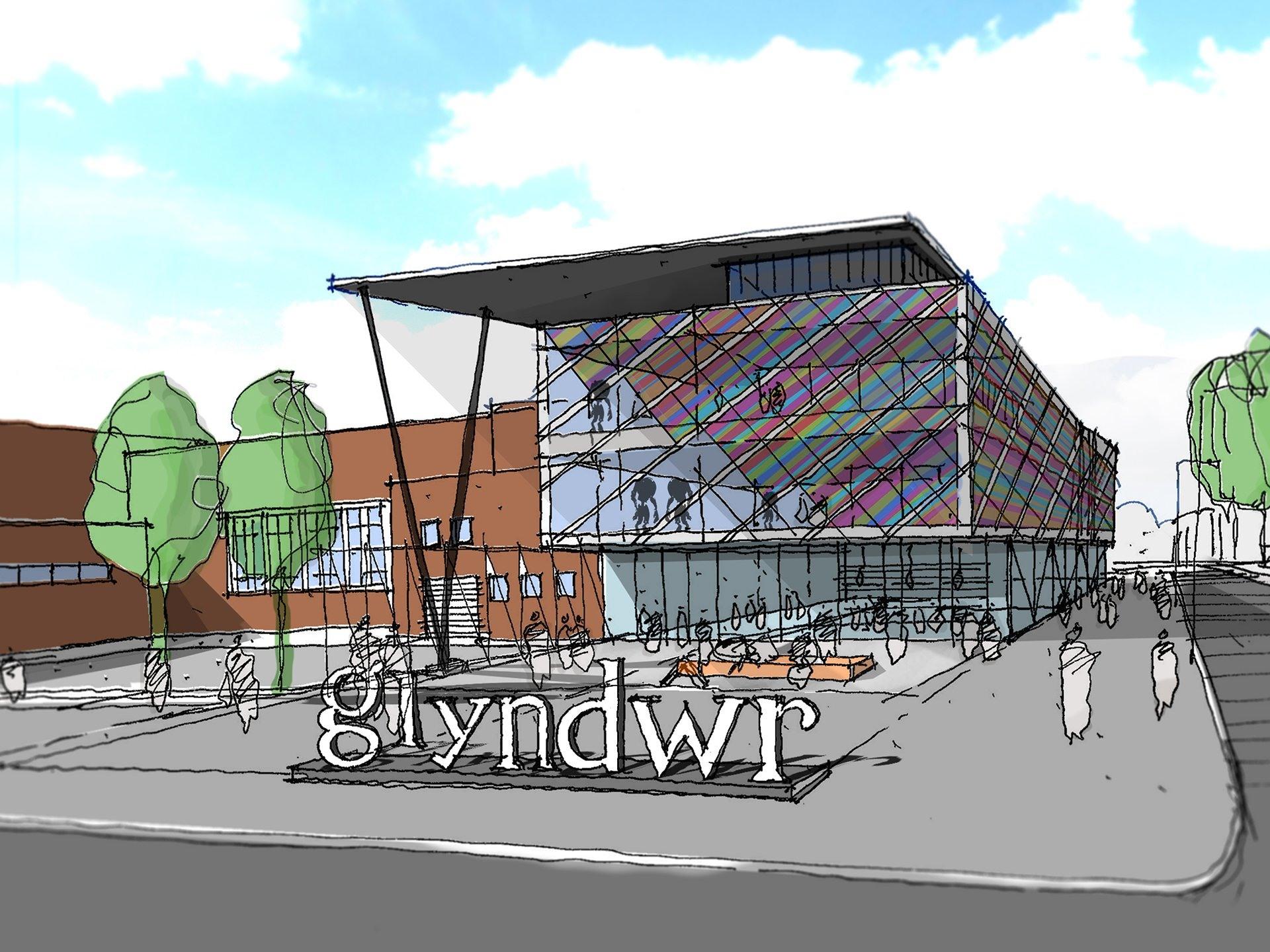 Wrexham University Gwyndr Extension